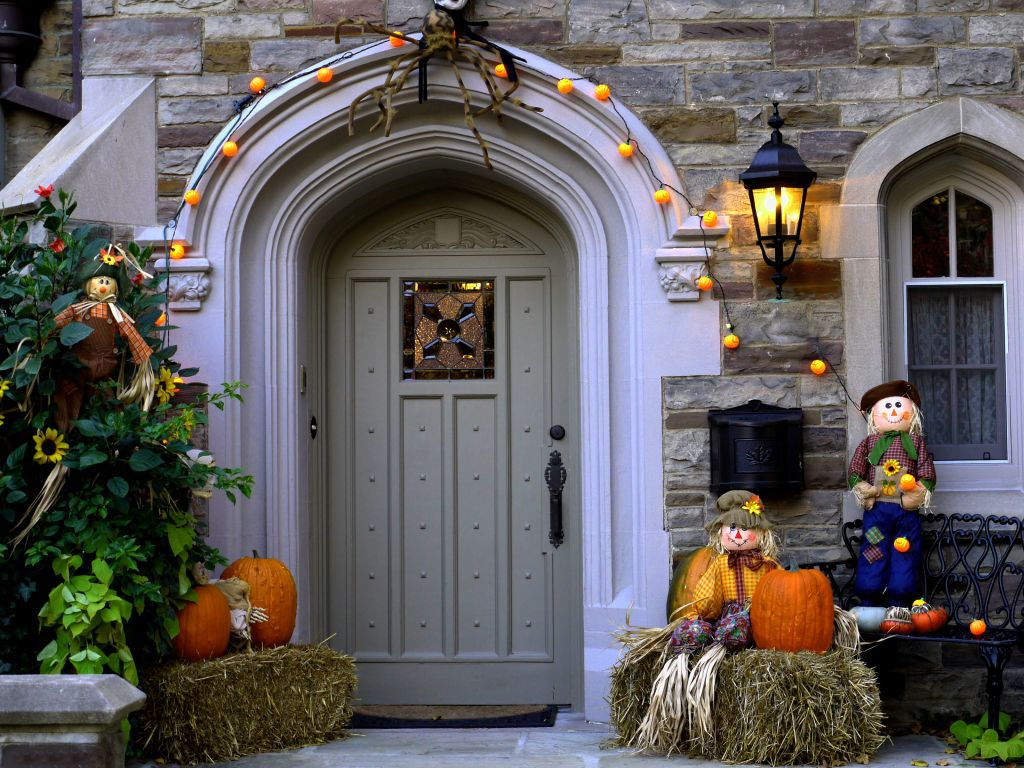 Modern Exterior Door Ideas Modern Front Door Decor Pinterest - Front Door Halloween Decorations