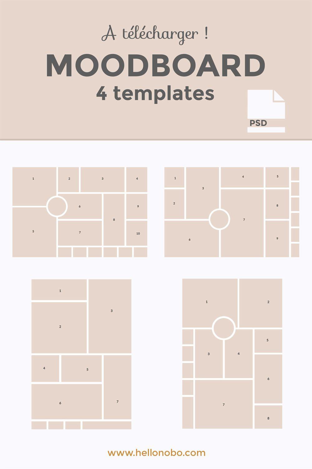 Nov 17 Comment créer une moodboard + 4 modèles à télécharger ...