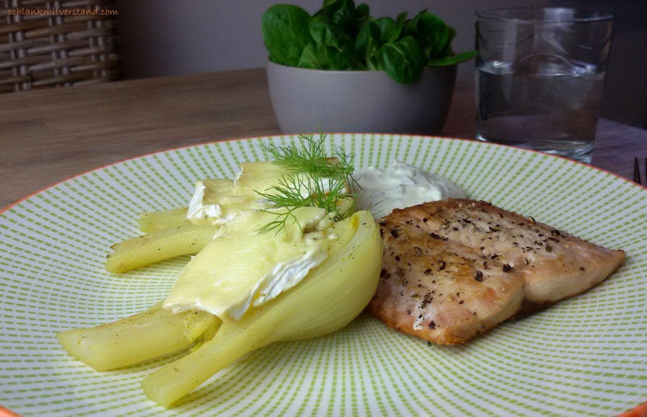 Fenchel mit Camembert und Lachs low carb | Kochrezepte ...