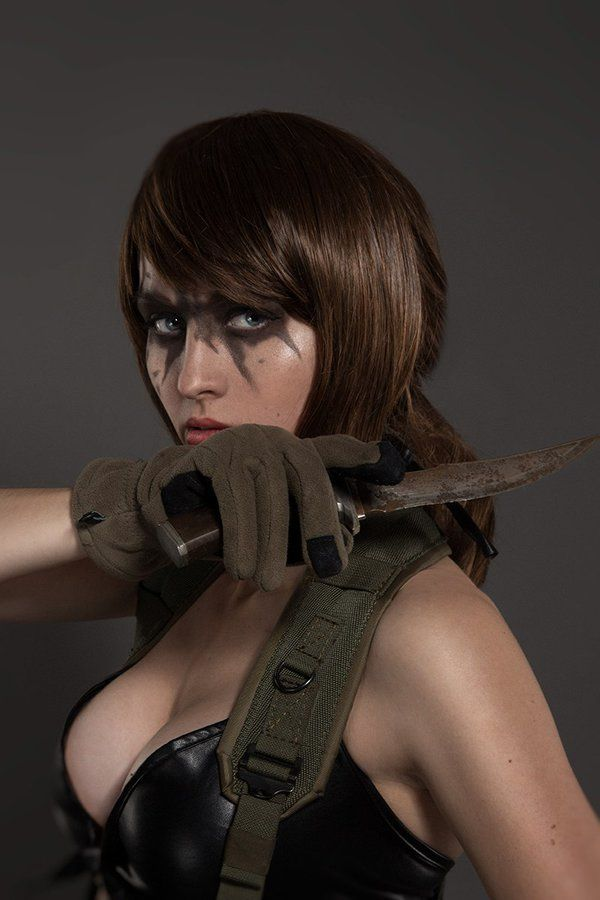 Character Quiet From Konamis Metal Gear Solid V The Phantom Pain Cosplayer Valya Leontyeva Aka Valentina Redgrave Vavalika Photo Daria