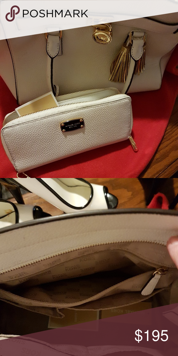 c7b3b2156ac Michael Kors Leather Purse AND wallet NWT   Mk purse, Michael kors ...