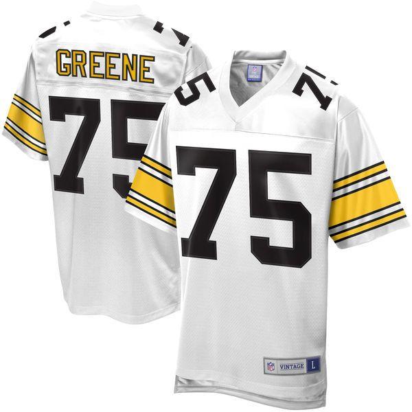 b65176a6365 ... Mens NFL Pro Line Pittsburgh Steelers Joe Greene Retired Player Jersey  - White - 139.99 ...