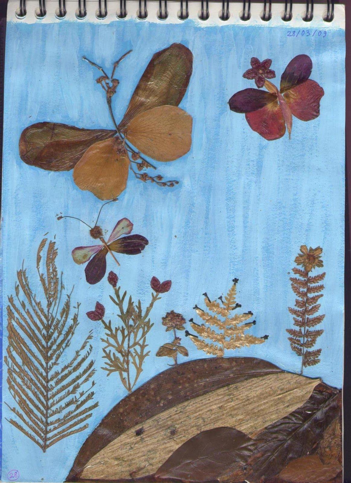 Natural collage   Leaf collage, Dry leaf art, Nature collage