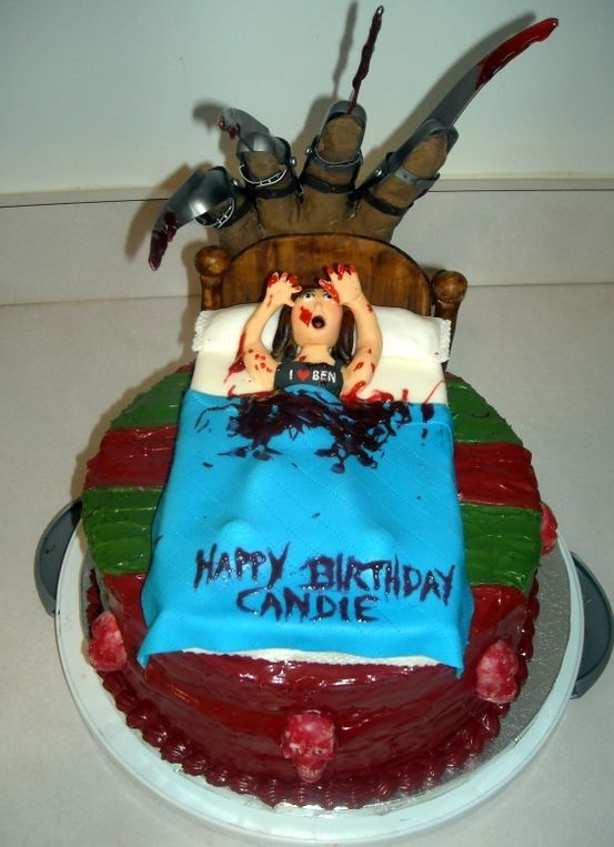 Freddy Krueger Cake Melissa Pruett I Thought You Would Love A