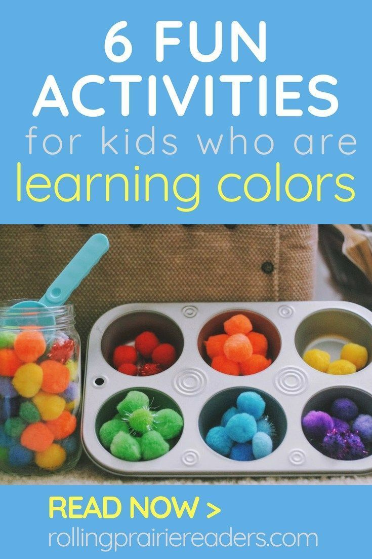 Photo of 6 Fun Activities for Teaching Colors to Kids – Rolling Prairie Readers