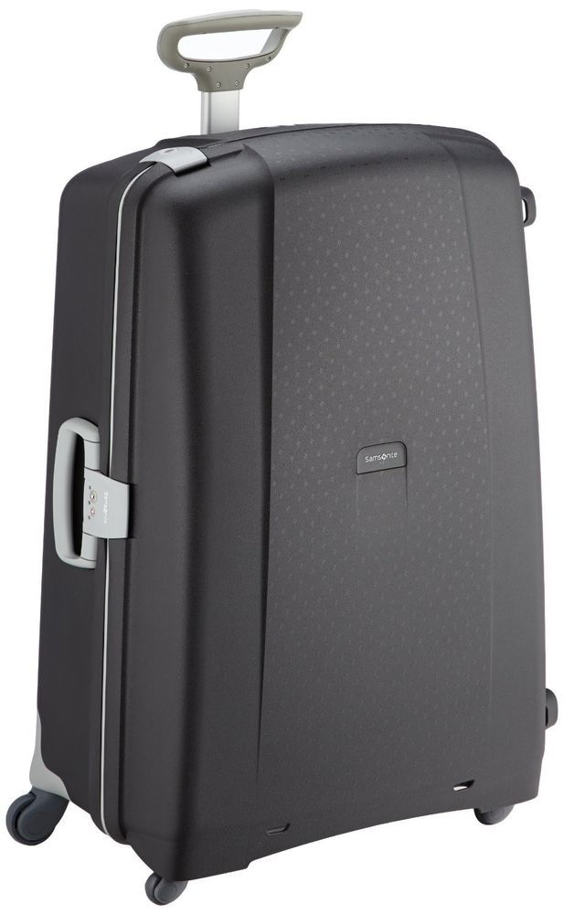 Ebay #Samsonite #Suitcase #Black #Hard #Plastic #Luggage #Trip ...