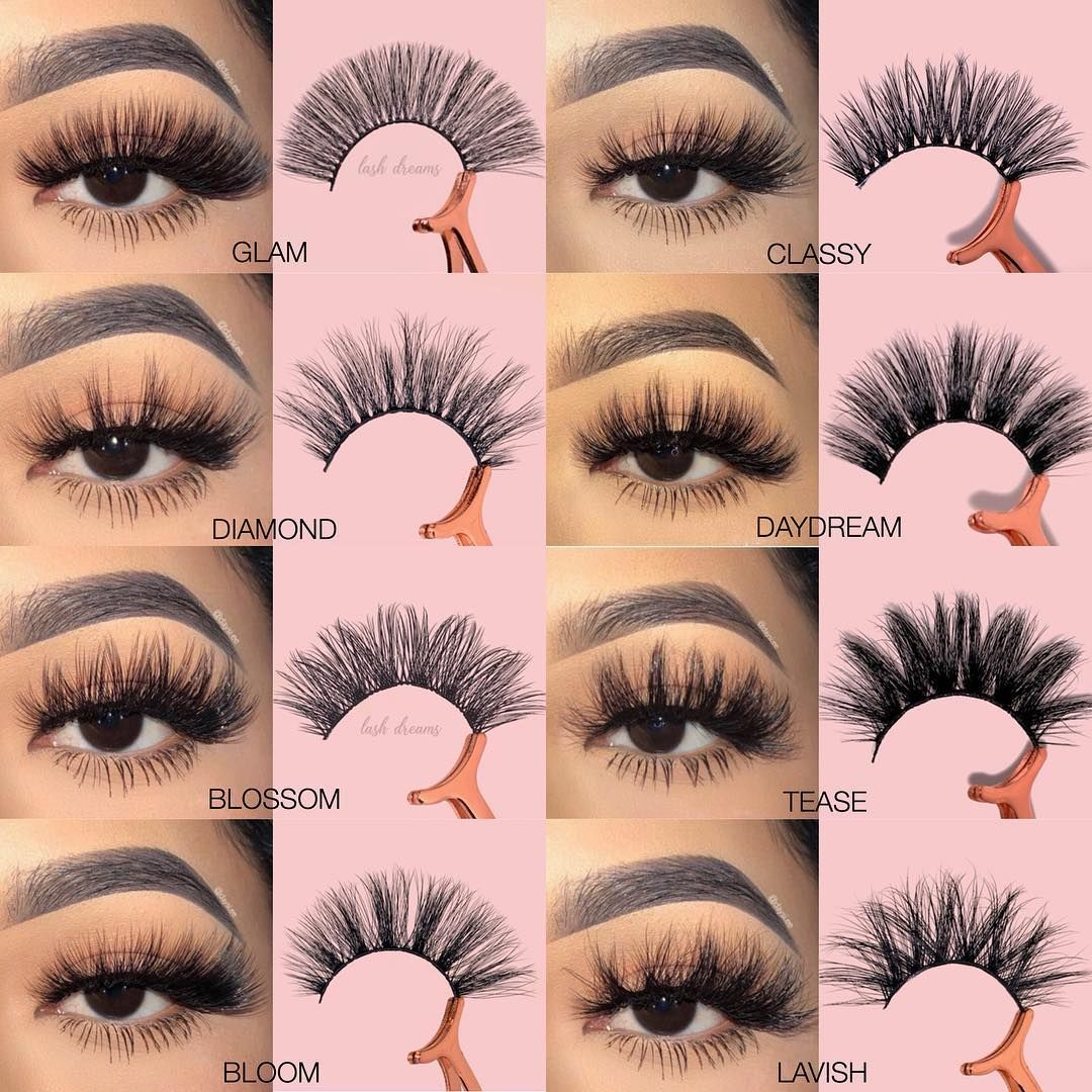 "Photo of LASH DREAMS on Instagram: ""Which one? 💖 50% OFF ALL LASHES STYLES use code 'flashsale50' today only 🔥"""