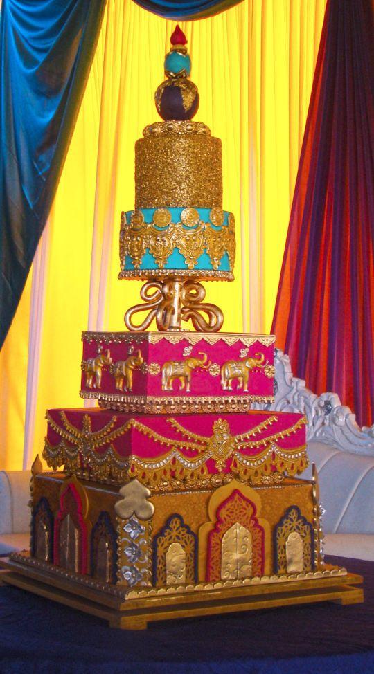 Hindu Wedding Cake Asian India Cake Wedding Cakes Indian