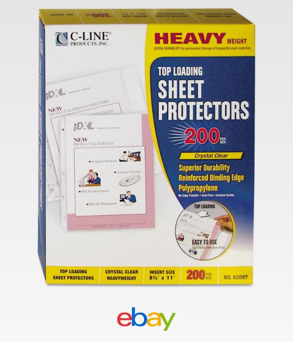 Details About C-Line Heavyweight Polypropylene Sheet