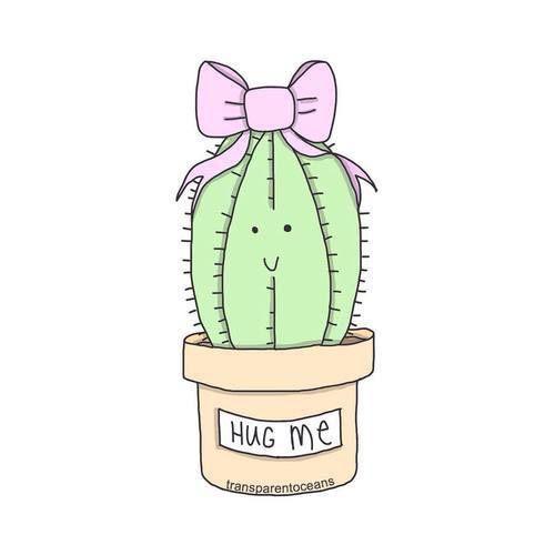Imagen De Cactus Overlay And Tumblr Overlays Tumblr Kawaii Drawings Tumblr Drawings