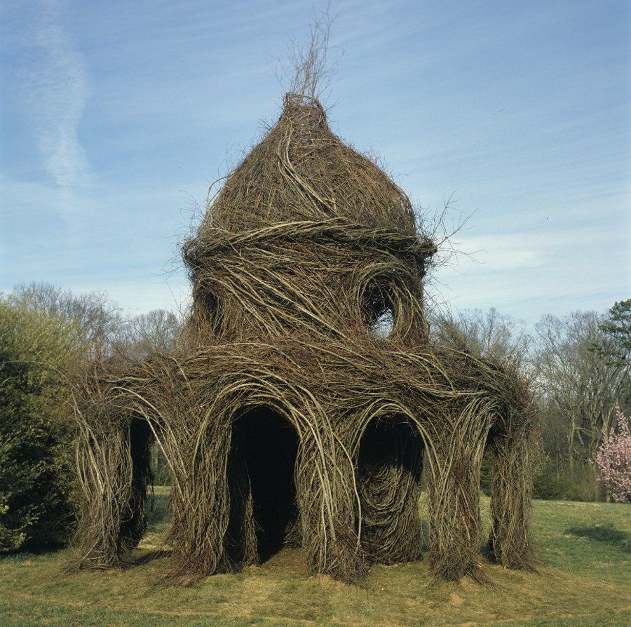 PHOTOS: Gorgeous, Massive Sculptures Made Entirely From Sticks ...