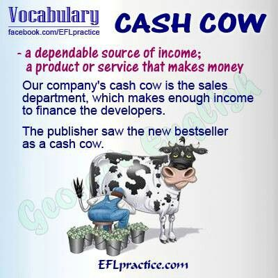 English Idioms Cash Cow English Idioms Idioms English Vocabulary