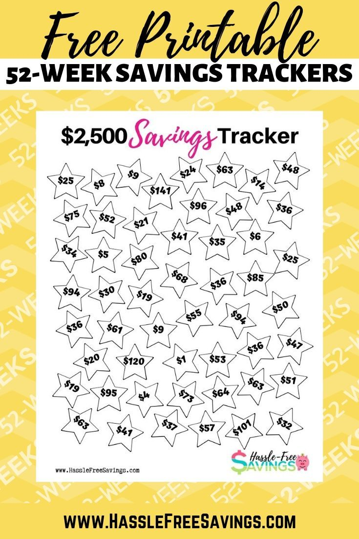 this free printable money saving chart is designed to help