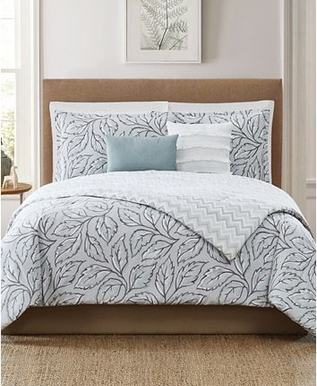 Photo of Chelsea Park Mabel 5-Piece King Comforter Set & Reviews – Bed in a Bag – Bed & Bath – Macy's