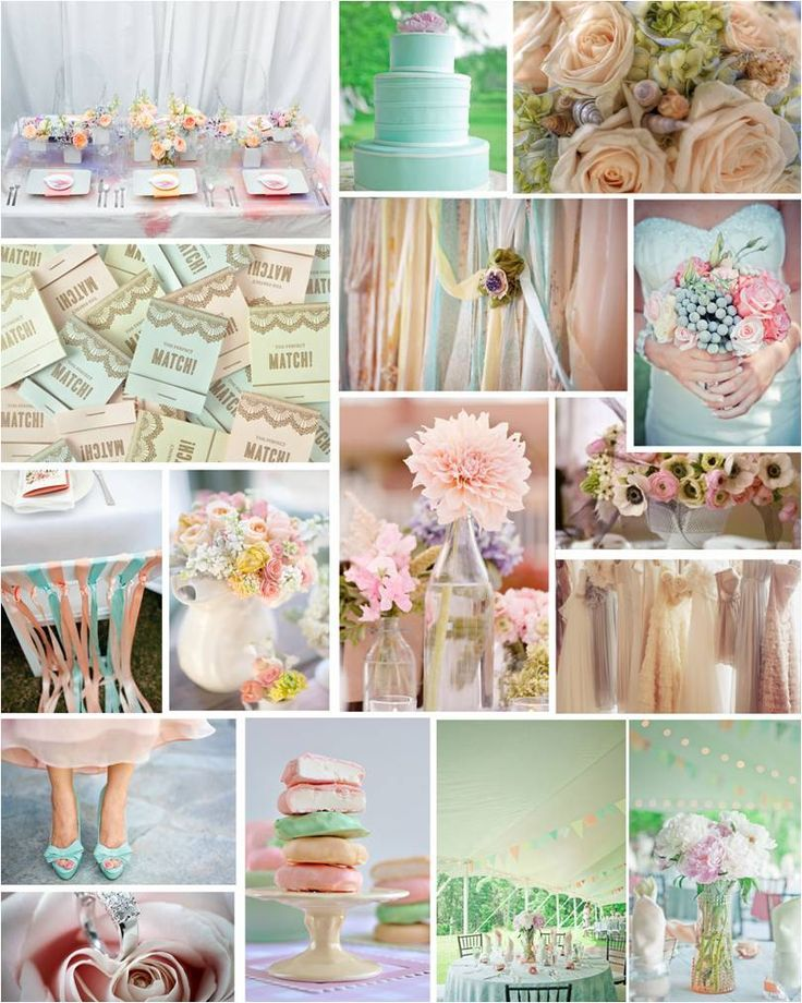 Pretty Pastel Wedding Ideas Pretty Pastel Pastels And Weddings