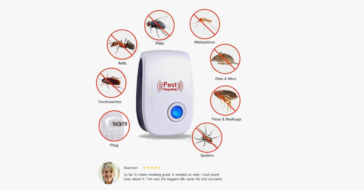 Ultrasonic Electronic Pest Repeller in 2020 Mice