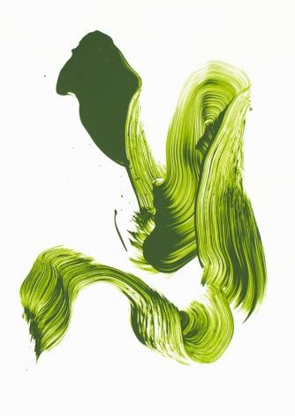 James Nares_3aces(green)