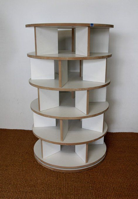 schuhregal schuhkarussell drehbar mdf wei do it yourself pinterest schuhregal regal. Black Bedroom Furniture Sets. Home Design Ideas