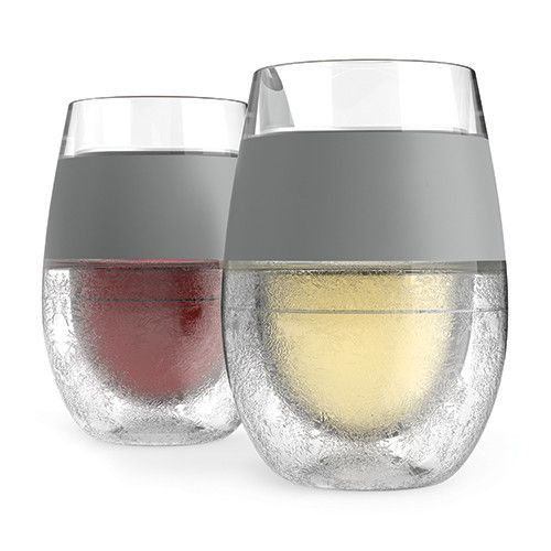 Wine Freeze Cooling Cups Set Of 2 Wine Glass Wine Glass Set