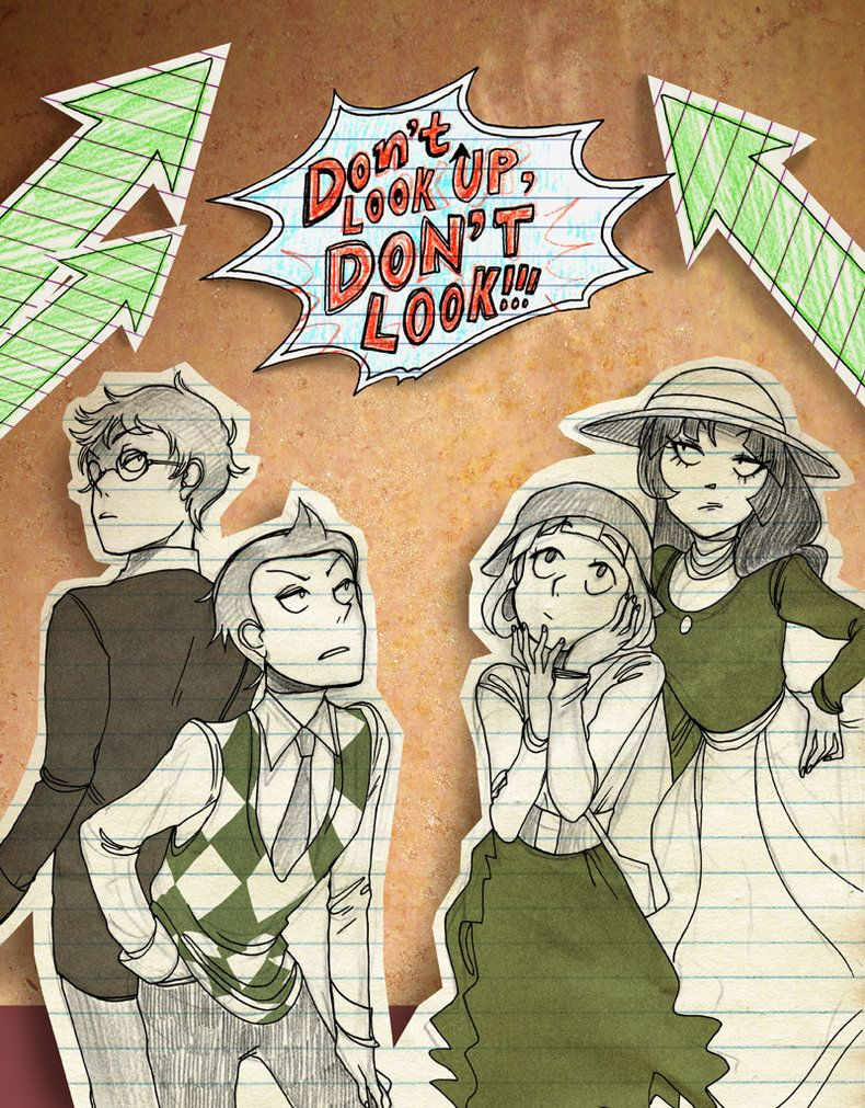 don't look up, don't look by jknozmo on DeviantArt