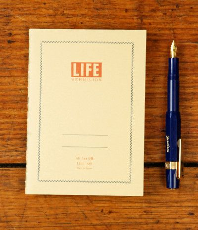 Japanese Notebook Paper Life Stationery...