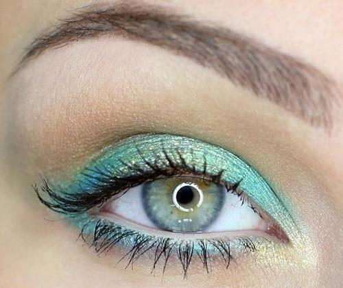 extreme eye makeup for blue eyes   Makeup   Tumblr