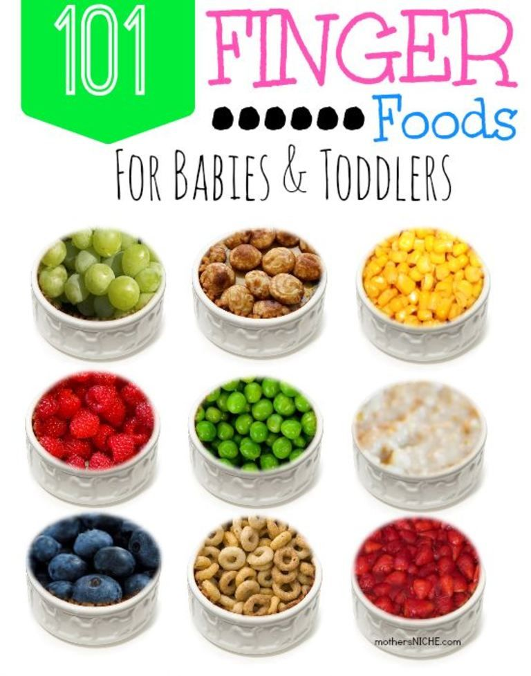 101 finger foods for babies and toddlers mothers niche