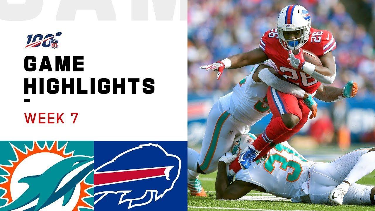 Dolphins vs. Bills Week 7 Highlights NFL 2019 Nfl