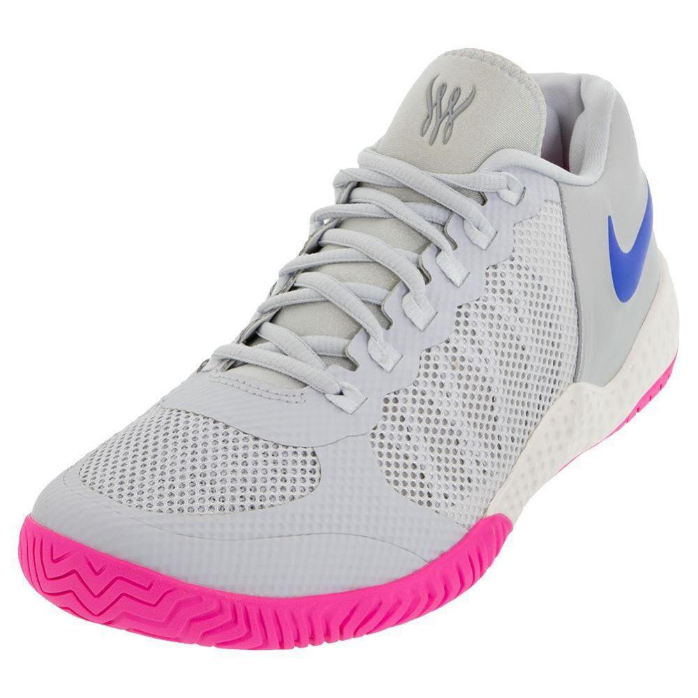Nike Women S Flare 2 Hc Tennis Shoes Tennis Express Av4713 003 Tennis Shoes Pure Platinum Shoe Lacing Techniques