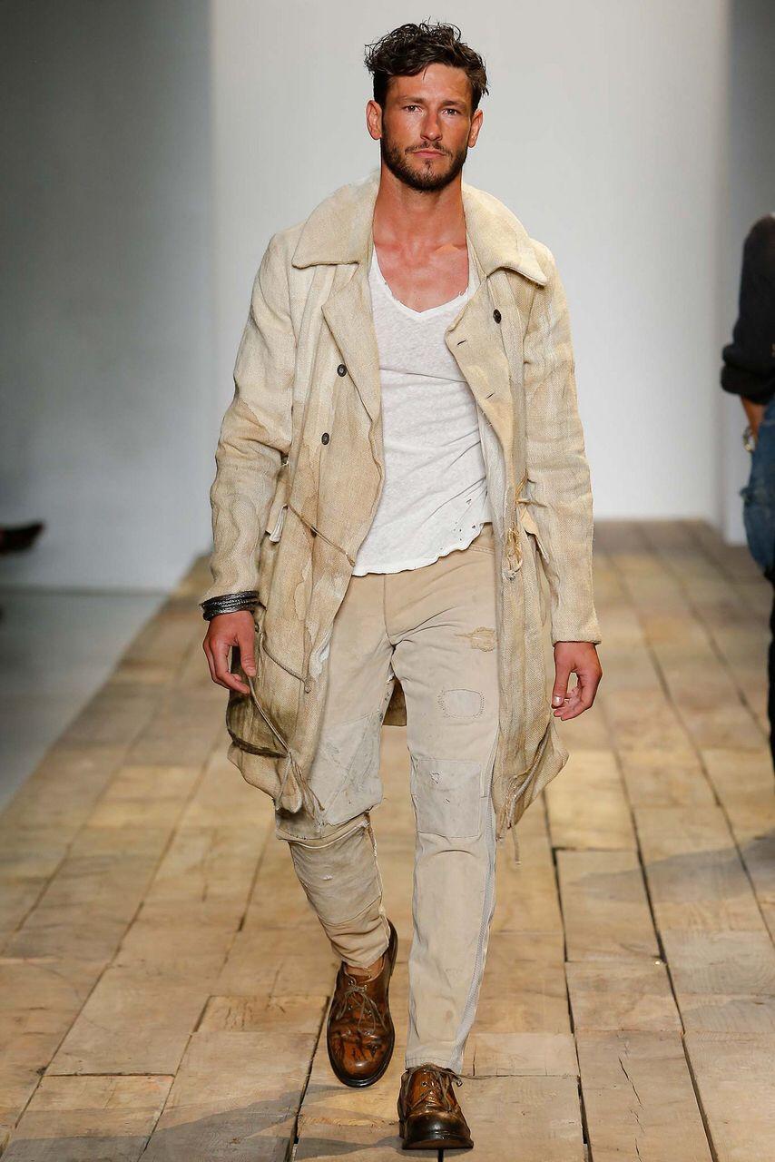 Greg Lauren Spring 2016 Menswear Collection Gallery Style Com In 2020 2016 Menswear Menswear Men Fashion Show