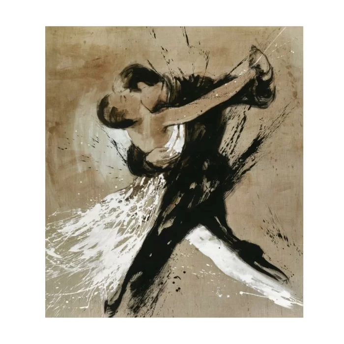 Tango By Paul Ngo Wrapped Canvas Graphic Art Print In 2021 Chelsea Art Studio Graphic Art Print Art
