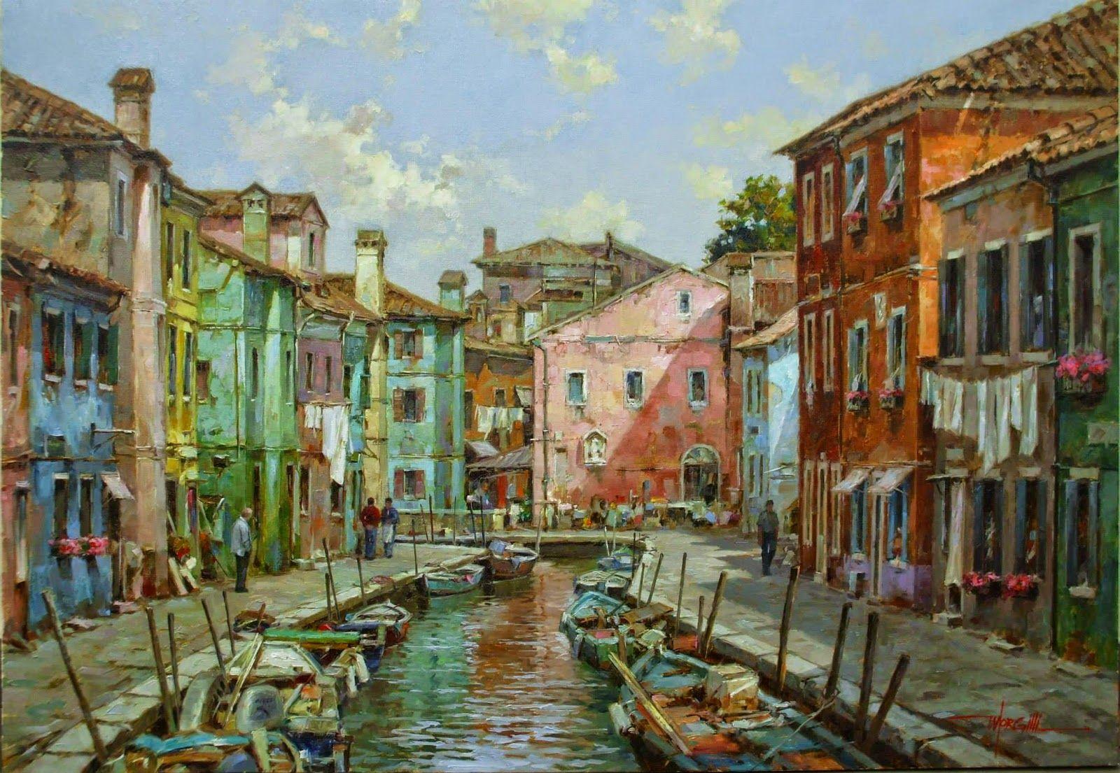 Luis Claudio Morgilli, 1955 | Impressionist painter | Tutt'Art@ | Pittura * Scultura * Poesia * Musica |