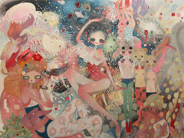 Aya Takano, the meteorite
