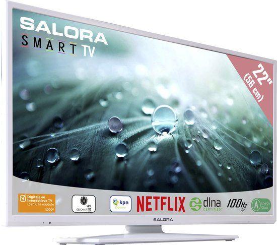 Salora 22led9112csw Led Tv 22 Inch Full Hd Smart Tv Led Tv Multimedia Usb