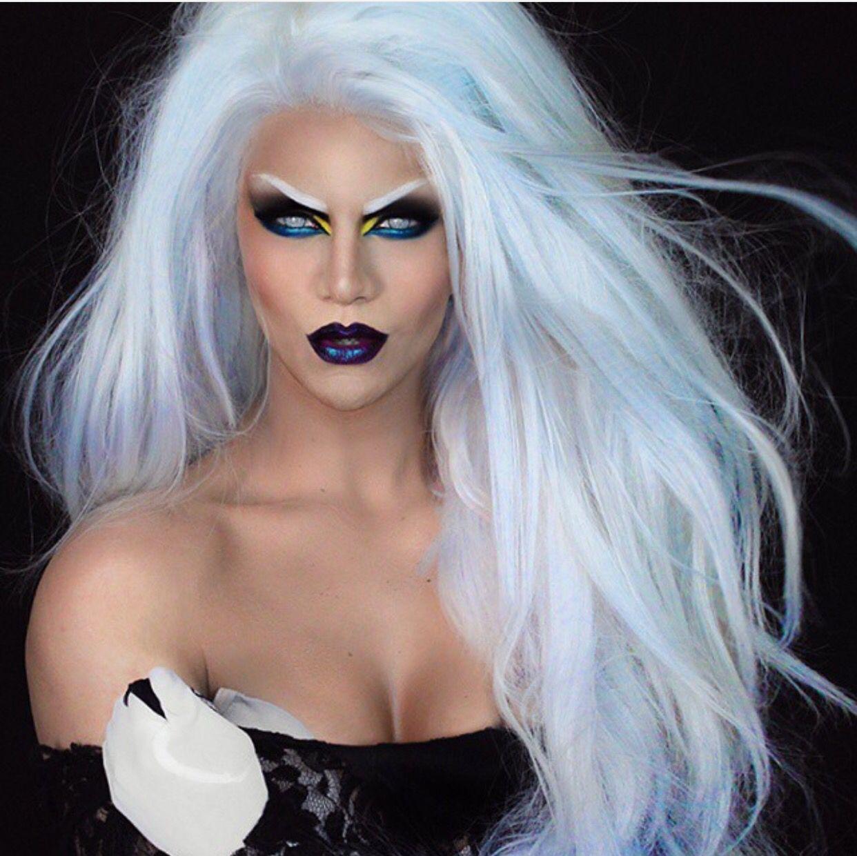 X,Men Storm makeup \u2026