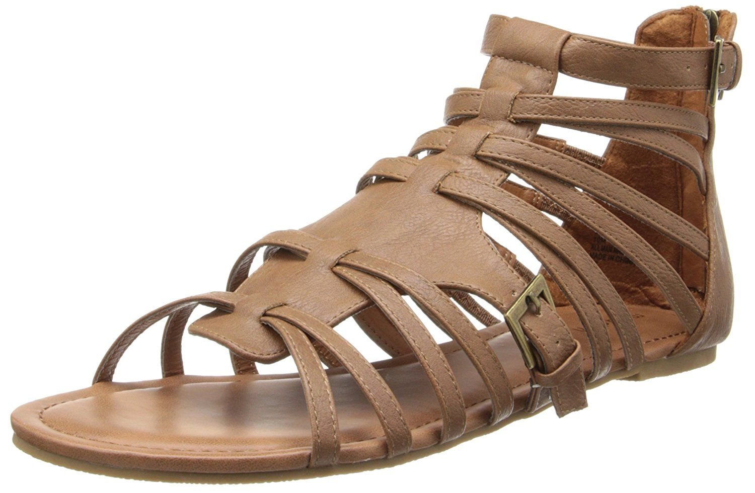 e80dd61daa7d Madden Girl Women s Maximuss Gladiator Sandal   New and awesome product  awaits you