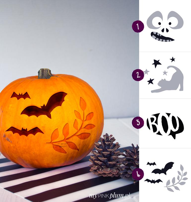 Jak wyciąć dynie na Halloween? + 4 wzory szablonów