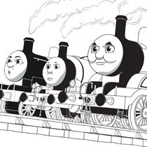 Thomas Friends Friendship Coloring Page Thomasandfriends Coloringpages