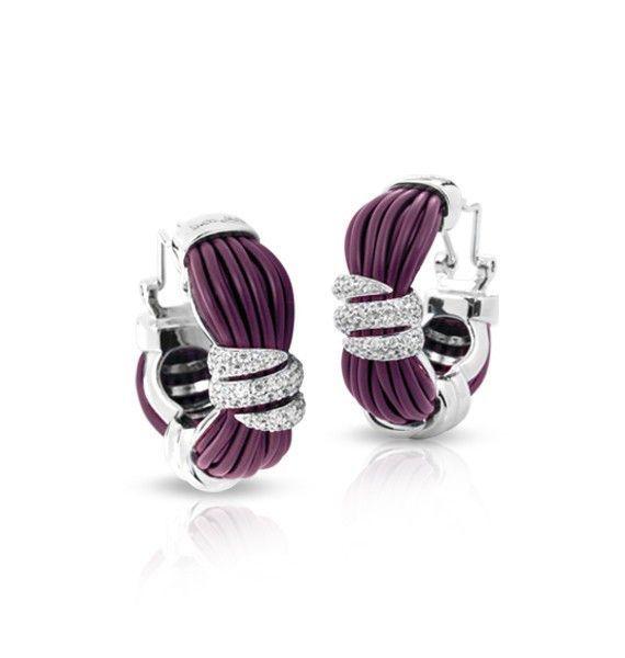 Forza Purple Earrings