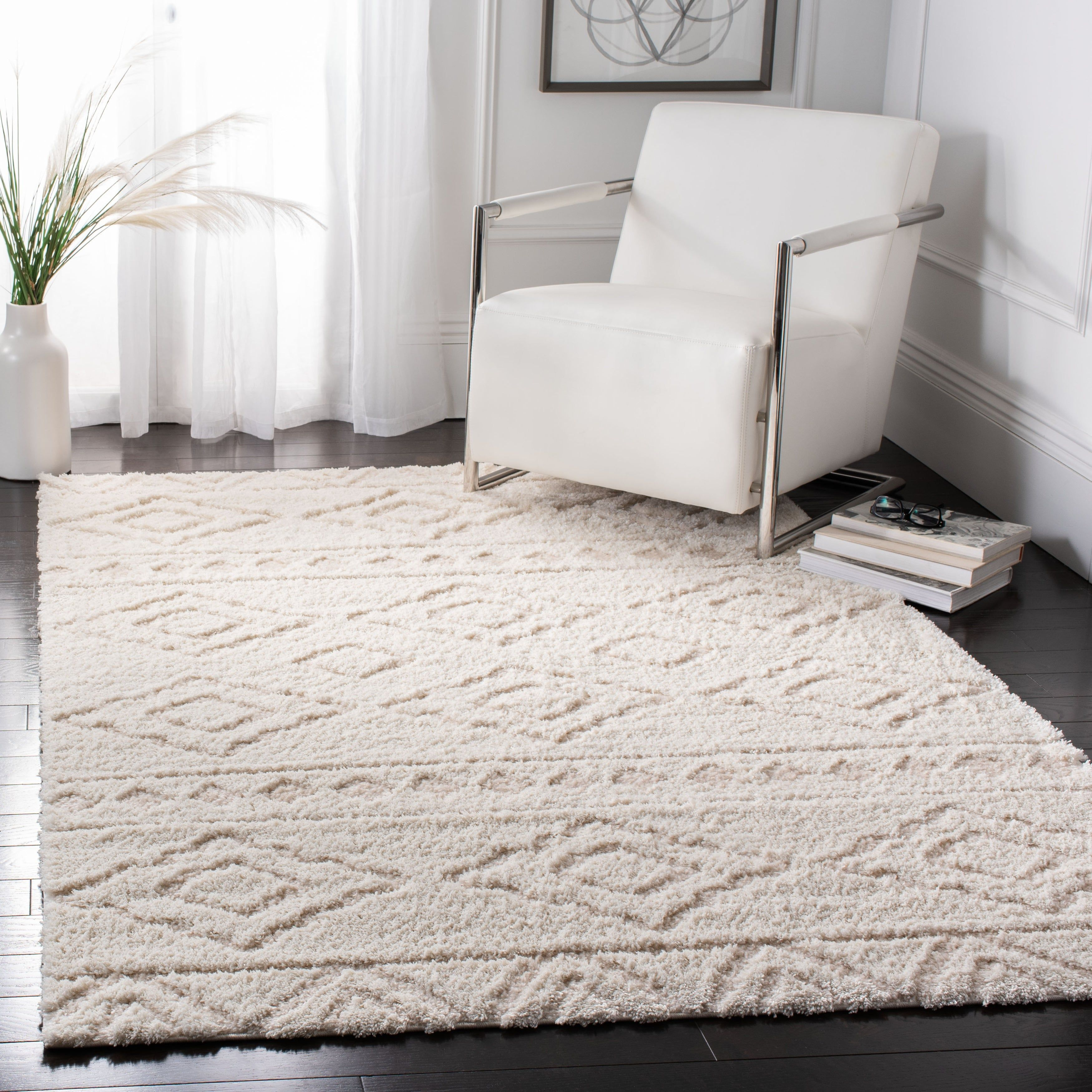 Safavieh Sparta Siomha Geometric Shag Area Rug Or Runner Walmart Com In 2020 Rugs Rug Over Carpet Polyester Rugs