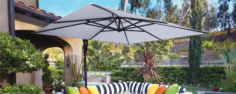 Treasure Garden 10 Square Cantilever Umbrella Summer House Patio In 2020 Cantilever Umbrella Summer House Patio