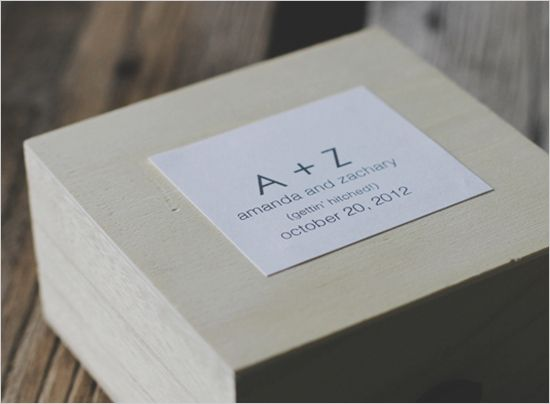 diy bridesmaid box