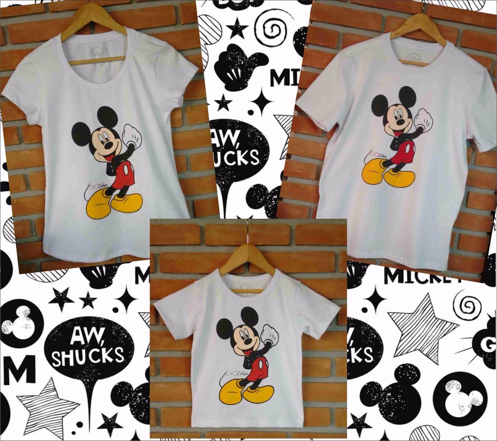 c6decbbcee Camiseta Mickey para família