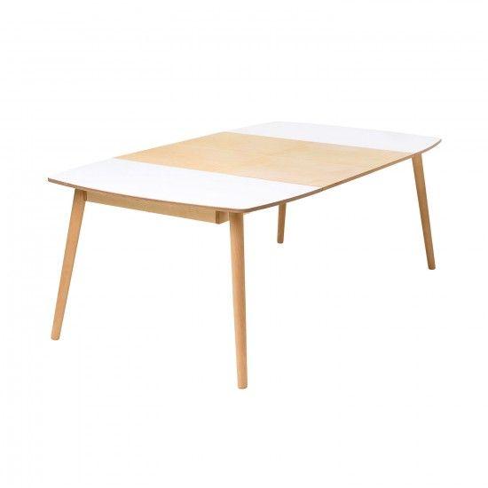 monoqi ausziehbarer esstisch wei wohnzimmer pinterest ausziehbarer esstisch. Black Bedroom Furniture Sets. Home Design Ideas