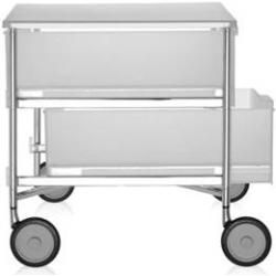 Photo of Kartell Mobil Rollcontainer 4er-Element rauchgrau Kartell