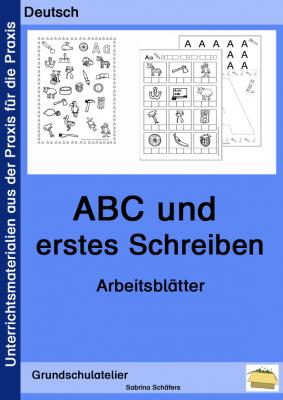 ABC-Werkstatt (Arbeitsblätter zur Buchstabeneinführung) | German and ...