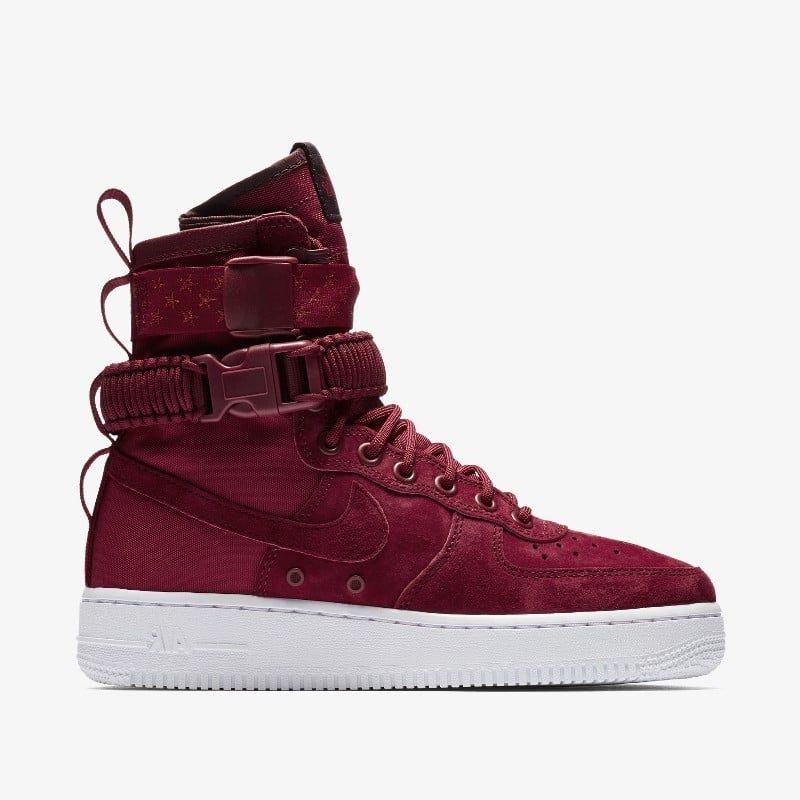 sale retailer 08693 728ff 857872-601-Nike-SF-Air-Force-1-High-Red-Crush-grailify-1 ...