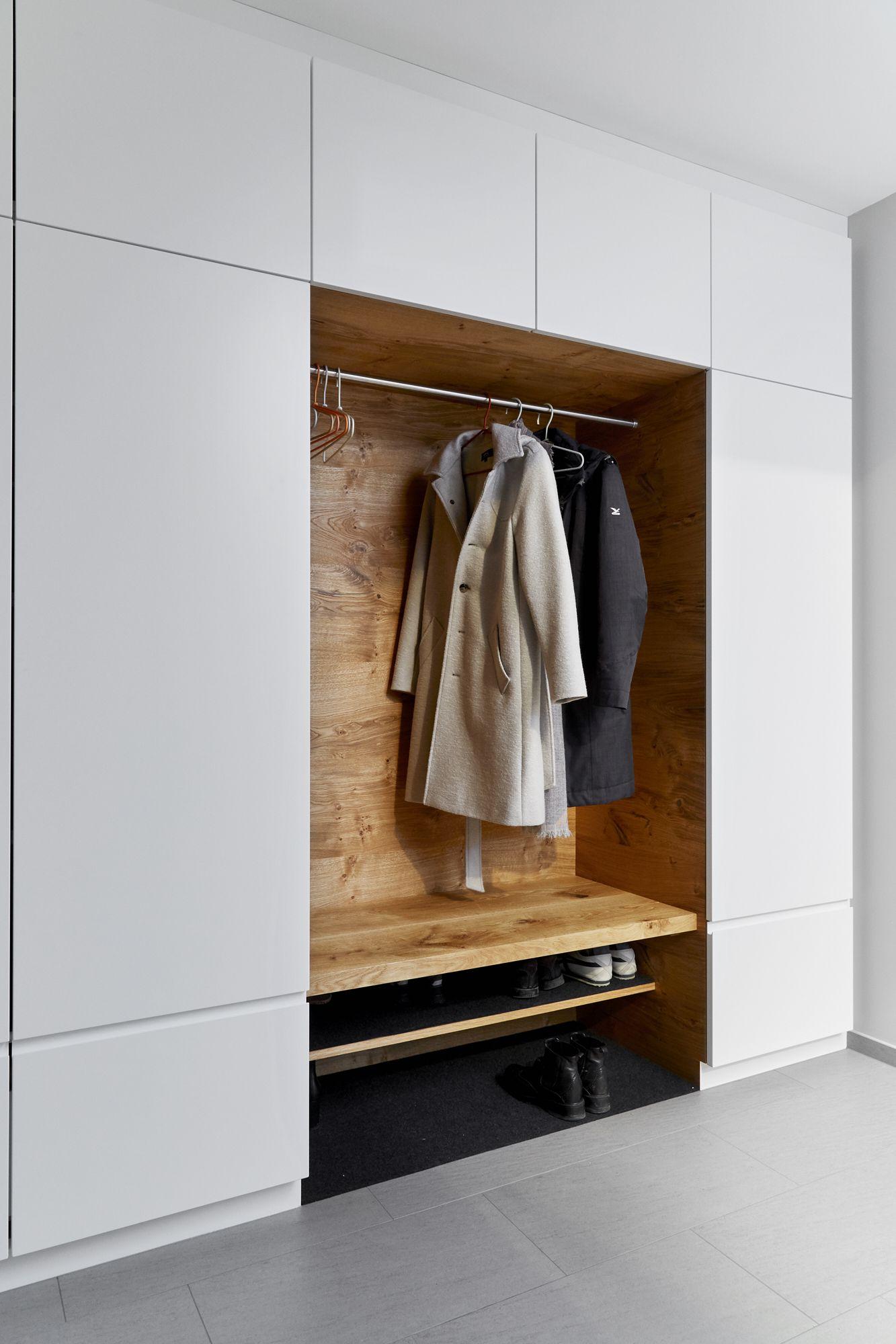 Ankommen Ritsch Mobelhandwerk Dornbirn Garderoben Eingangsbereich Schrank Design Moderner Eingangsbereich