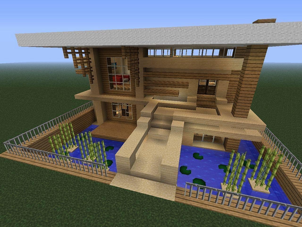 идея для дома в майнкрафте #2