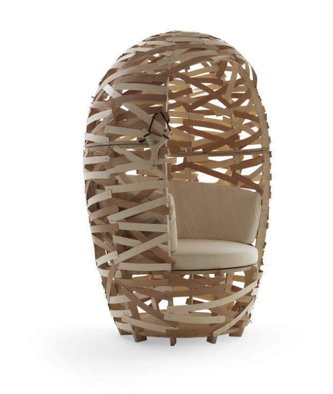 Cappellini the secret clubhouse cappellini nest chair for Cappellini arredamento